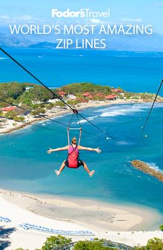 20 zip lines that will inject a huge dose of adrenaline into your next vacation. #travel #adventuretravel #vacation