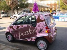 Cupcake Delivery Car