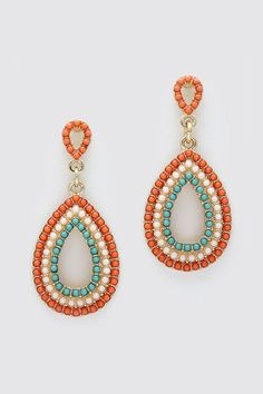Fiery Machella Earrings