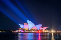 #VIVID 2015 #Photography #Workshops Join Kirsten to learn how to take stunning #Images just like this! #Lights #Night #City #OperaHouse