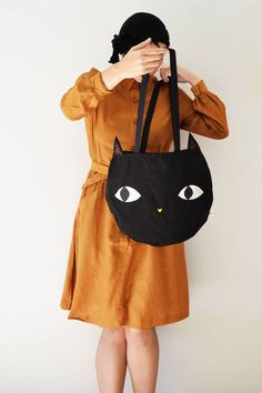 3f837def0392 This is the perfect tote bag for Cats lovers! ♥ Totally handmade