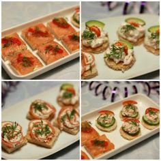 Appetizer Recipes, Dinner Recipes, Buffet, Recipes From Heaven, Appetisers, Fish Dishes, Fish And Seafood, Finger Foods, Food Inspiration