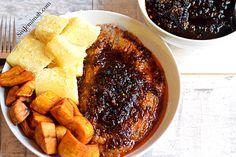Ewa Agoyin and Ewa Agoyin Sauce recipe: How to recreate Ewa Agonyin and the Ewa Agoyin sauce right in the comfort of your home....
