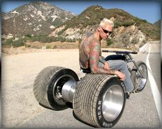 Well, its not a bike. Its a trike, but damn....its the best looking trike I've ever seen. Epic