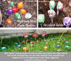 This Magic jelly bean garden is a wonderful Easter tradition to start with the kids!