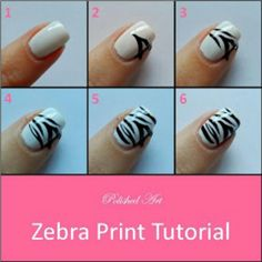 Use nail pens or type for better lines