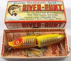 Vintage Heddon Spook Floater Jointed 9430 XRY w/Box