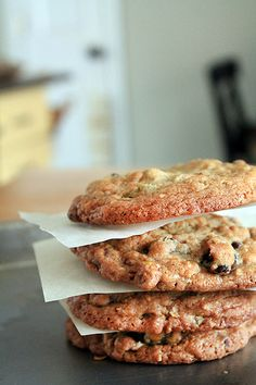 dark chocolate cherry pistachio cookies.