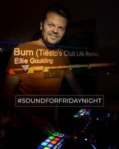 My SoundForFridayNight from the 01st February 2019.  ELLIE GOULDING - Burn (Tiësto's Club Life Remix) Weekend Song, Ellie Goulding, The Dj, Burns, February, Dance, Club, Songs, Life