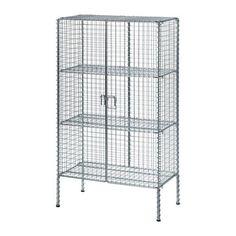 IKEA - IKEA PS 2017, Rangement, Facile à monter : ne nécessite ni outils, ni vis.Les pieds réglables permettent d'assurer la stabilité en cas de sol inégal.Les tablettes sont réglables pour s'adapter à vos besoins de rangement.