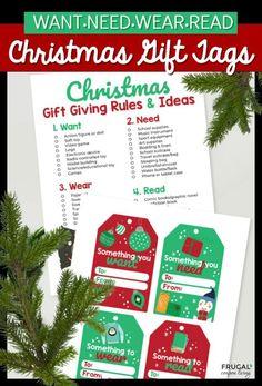 Christmas Gift Tags Printable, Christmas Gift Bags, Christmas Gift Wrapping, Family Christmas, White Christmas, Christmas Holiday, Holiday Ideas, Creative Gift Wrapping, Creative Gifts