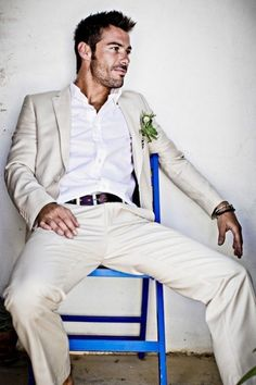 Here is Beach Wedding Groom Outfit Ideas for you. Beach Wedding Groom Outfit us 8455 5 latest coat pant designs ivory Beach Wedding Groom Attire, Casual Groom Attire, Beach Attire, Mens Attire, Groom Outfit, Wedding Men, Trendy Wedding, Wedding Beach, Beach Groom