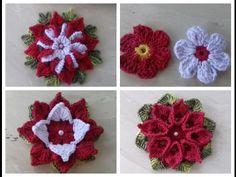 Video Aulas Flor em Crochê Para Aplicação em Diversos Trabalhos de Crochê Cristina Coelho Alves - YouTube
