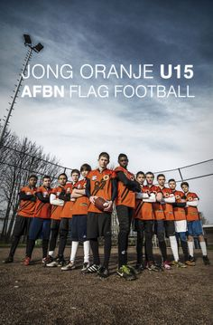 Team U15 Jong Oranje Flag Football EK 2014