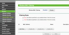 All about Wi-Fi router MAC filtering: Learn why this little setting is insurmountably powerful. #hardware