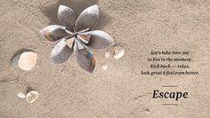 Escape sand
