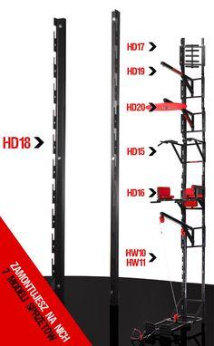 Kelton HOME prowadnice do ściany HD18