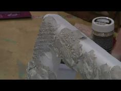 YouTube Sculpting, Lace Wedding, Decoupage, Mixed Media, Clay, Youtube, Crafts, Clays, Sculpture