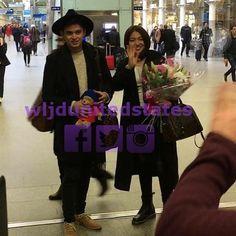 Ang hollywood couple ng pinas ay nasa London na (chareet haha)  @Regrann from @wljdunitedstates -  The blooming couple ready to conquer London!! {WLJD USA, Staff GD}  #JaDineInLoveEMEAPresscon #JamesReid #NadineLustre #JaDine #Regrann