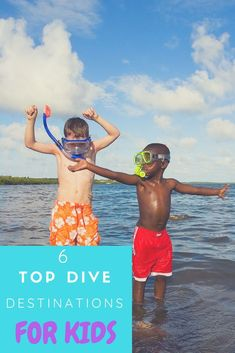 There's nothing more satisfying than introducing your kids to the underwater world and including them in your dive-trip planning. Here are our picks for the top dive destinations for kids. Underwater Shipwreck, Underwater World, Diving World, Best Scuba Diving, Family Resorts, Great Barrier Reef, Florida Keys, Snorkeling, Trip Planning