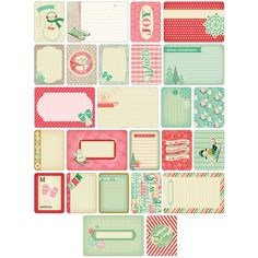 Project Life Themed Cards 60/Pkg-Winter