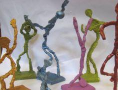 Giacometti Figure Sculptures — Emily Jane Valenza