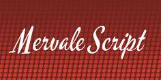 Mervale Script Font · 1001 Fonts