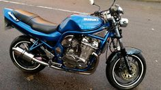 suzuki bandit streetfighter custom superb condition full mot sounds superb