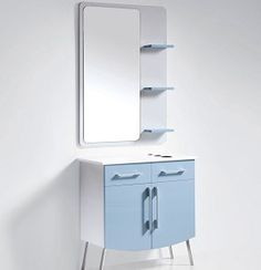 Miami Salon Styling Station included in this super cool art deco Furniture Package from Standish