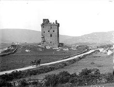Castle Donovan as it was in the (Castle Donovan is west of Dunmanway, near Drimoleague in West Cork, Ireland) Scotland Travel, Scotland Trip, Tacky Tourists, Images Of Ireland, West Cork, Ireland Vacation, Emerald Isle, British Isles, Old Photos