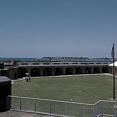 Another view of Fort Taylor in #KeyWest #travel #Florida #forts