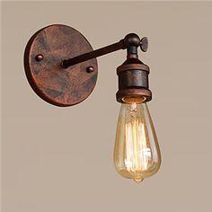 Buy Wall Lights & Wall Lamps at Homelava Wall Lights, Sconces, Wall Mounted Light, Bracket Wall Lamp, Industrial Style, Bulb, Indirect Lighting, Metal Wall Light, Lights