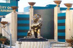 Las Vegas - Le lion du MGM Grand