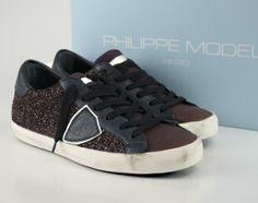 Modèle Philippe Sild Baskets Noir / Or 5KE1FCr4