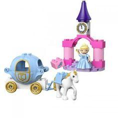 Lego Duplo Prinzessin Cinderella Pferdekutsche.