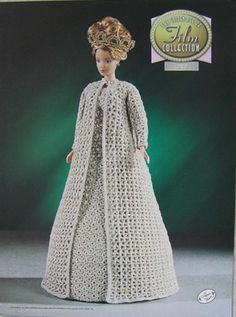 Annie's Attic Camelot Golden Age of Film Collection Crochet Bed Doll Pattern