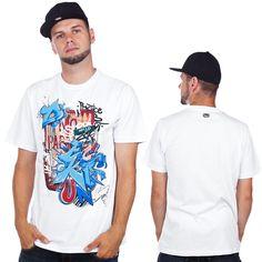 Ecko Unltd. Parking Vandal T-Shirt Bleach White  Ł30