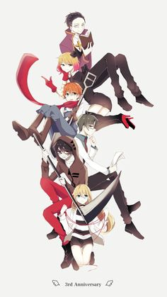 Angel of Slaughter 殺戮の天使 (Massacre Angel) (Satsuriku no Tenshi) Anime Angel, Anime Demon, Manga Anime, Anime Art, Angel Of Death, Anime Group, Satsuriku No Tenshi, Rpg Horror Games, Cute Comics