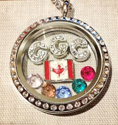 Girl Guides of Canada Locket Great gift for your daughter's Guiding Leader…