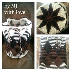 De afgelopen weken heb ik hard gewerkt aan een aantal #mochila look-a-like tassen.   Geïnspireerd door de tassen die vrouwen van de Wayuu-i...