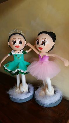 Fofuchas bailarinas