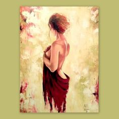 Erotic Oil Painting – Nude Woman – Erotic Painting – Naked Woman – Sexy female Painting – Bedroom wall art – Oil On Canvas - PAINTING Female Portrait, Female Art, Woman Portrait, Painted Ladies, Woman Painting, Sexy Painting, Painting Trees, Painting People, Painting Art