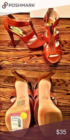 Michael Kors Woman's Berkley Platform Never Worn! Still have tags! Michael Kors Shoes Heels
