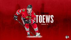 Check out our new desktop wallpapers for the 2015-16 season! #Toews #19 #Blackhawks
