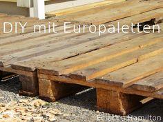 DIY Terrasse aus Euro-Paletten Vol.1