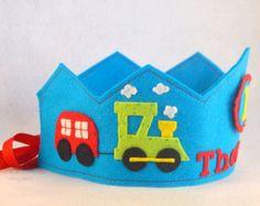 Birthday Crown Felt Crown Balloons por pixieandpenelope en Etsy Princess Party Favors, Disney Princess Party, Cinderella Party, Diy Flower Crown, Diy Crown, Diy Birthday Crown, Birthday Crowns, Baby Crafts, Felt Crafts
