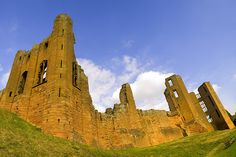 Kenilworth Castle in Warwickshire is one of the largest historic attractions in the West Midlands. Kenilworth Castle, West Midlands, About Uk, Barcelona Cathedral, Castles, Monument Valley, Hunting, Tours, Halloween