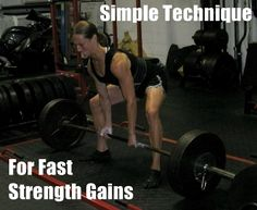 Get Strong in a Hurry - Simple Technique for Fast Strength Gains - Nia Shanks