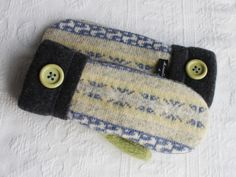 sweater mittens upcycled sweater mittens by miraclemittens on Etsy, $38.00