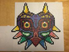 The Legend of Zelda Majora's Mask Bead hama perler beads by BeadsByGeeks